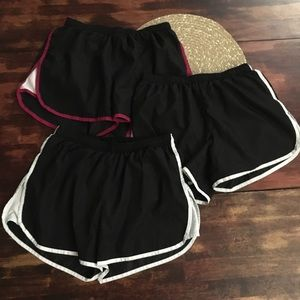 3 pairs champion athletic shorts